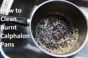 How To Clean Burnt Calphalon Pans